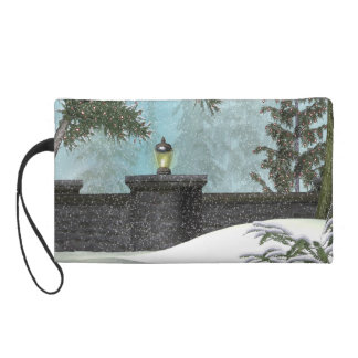 Winter Wall Wristlet