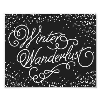 WINTER WANDERLUST | HOLIDAY ART PRINT PHOTO PRINT