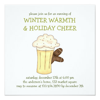 Winter Warmth · Eggnog Card