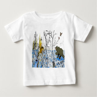 Winter Warrior and Bear Infant T-shirt