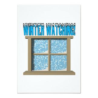 Winter Watching 2 Card
