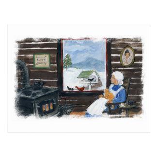 Winter Watching Postcard