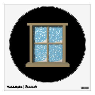 Winter Watching Wall Graphic