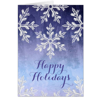 Winter Watercolor | Business Holiday Cards
