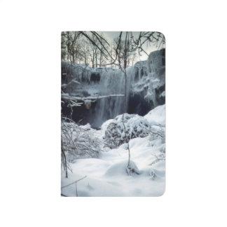 Winter Waterfall  Journal