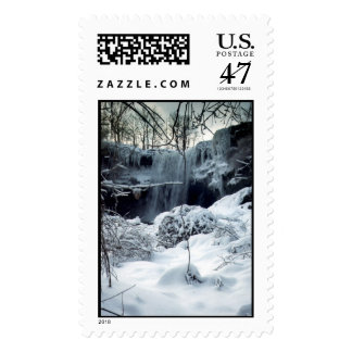 Winter Waterfall, Stamps