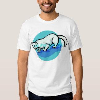winter weasel tee shirt