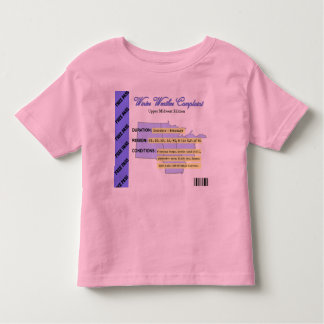 Winter Weather Complaint Free Pass Tshirts