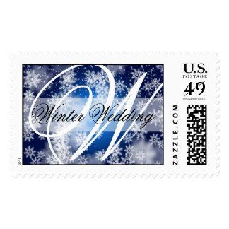 winter_wedding_3 postage stamps