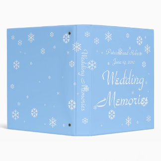 Winter Wedding Binder