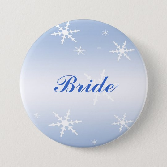 Winter Wedding Bridal Pin