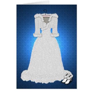 'Winter Wedding' Card