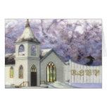 Winter Wedding Chapel Response Card