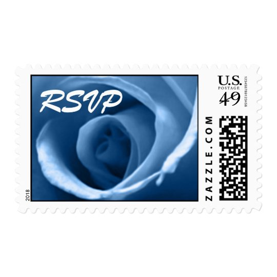 Winter Wedding Colors Postage
