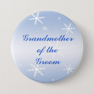 Winter Wedding Grandmother of the Groom Pin
