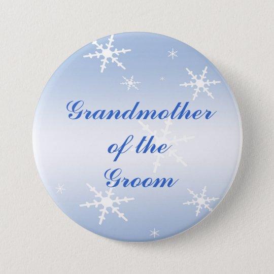 Winter Wedding Grandmother of the Groom Pin