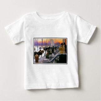 Winter Wedding In Washington Square Baby T-Shirt
