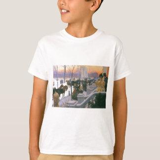 Winter Wedding in Washington Square c. 1897 T-Shirt