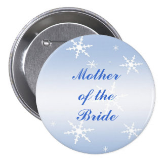 Winter Wedding Mother of the Bride Pin