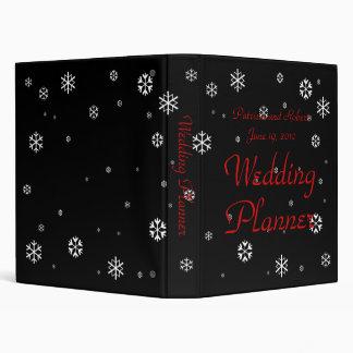 Winter Wedding Planner 3 Ring Binder