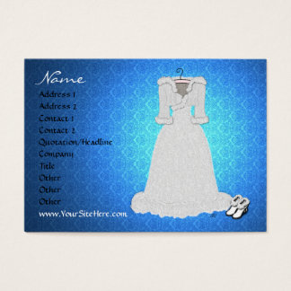 'Winter Wedding' Profile Card