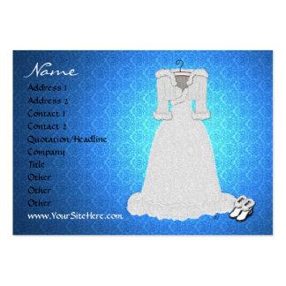 'Winter Wedding' Profile Card Business Card Templates