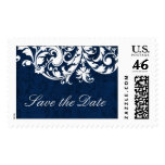 Winter Wedding Save the Date Postage
