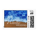 Winter Wedding Stamps