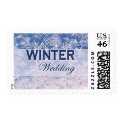 Winter Wedding stamps stamp