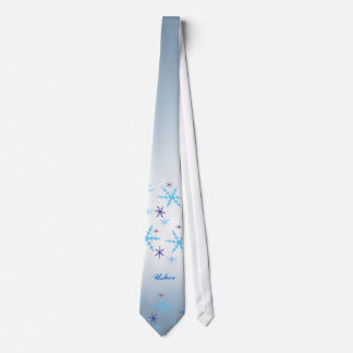 Winter Wedding Usher Tie