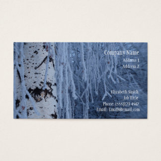 Winter Weeping Birch Buiness Card