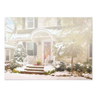 Winter - Westfield, NJ - It's too early for winter Custom Invitation