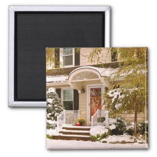 Winter - Westfield, NJ - It's too early for winter Fridge Magnets