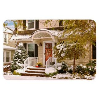 Winter - Westfield, NJ - It's too early for winter Magnet