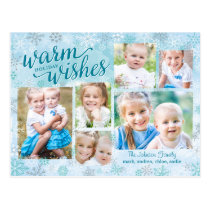 Winter Whimsy Collage Holiday Photo Card