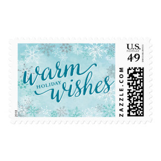 Winter Whimsy Holiday Postage Stamp