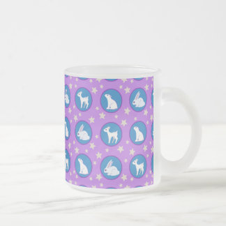 Winter White Animals With Stars Art Pattern Mugs