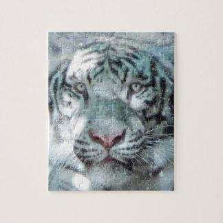 Winter White Tiger Puzzle