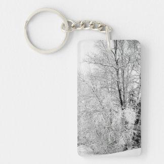 Winter Whites Keychain
