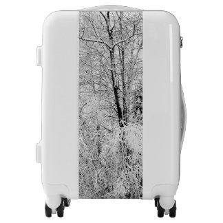 Winter Whites Luggage