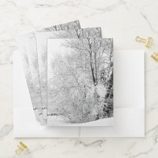 Winter Whites Pocket Folder
