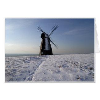 Winter Windmill Card