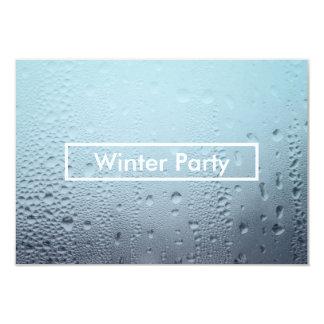 winter window party invitations