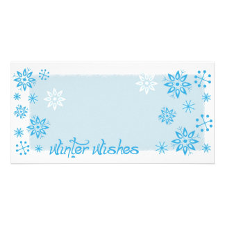 Winter Wishes Photo Card