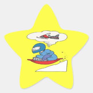 Winter Wishes Star Stickers