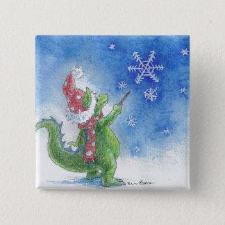 Winter Wizard Square Button