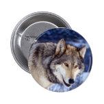 Winter Wolf 2 2 Inch Round Button