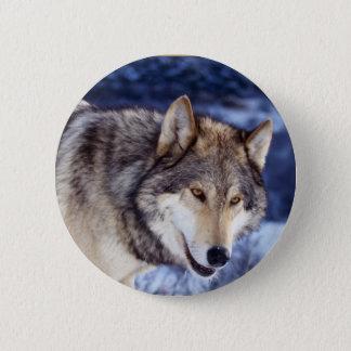 Winter Wolf 2 Button