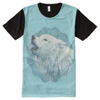 Winter Wolf All Over Print Tshirt