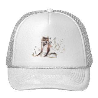 Winter Wolf Trucker Hat